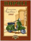 Napoli Scooter Art by Bruno Pozzo