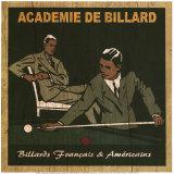Academie de Billard II Prints by Philippe David