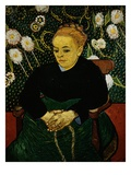 Woman Rocking a Cradle (Augustine Roulin) Giclee Print by Vincent van Gogh