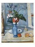 The Blue Vase Giclée-tryk af Paul Cézanne