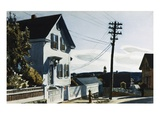 Adam's House Giclee-trykk av Edward Hopper