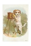 Trade Card of a Terrier Photographer Giclée-vedos