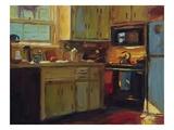 Ginny's Kitchen Giclée-vedos tekijänä Pam Ingalls