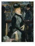 Skating Giclee-trykk av Edouard Manet