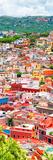¡Viva Mexico! Panoramic Collection - Guanajuato Colorful Cityscape XIII Fotografie-Druck von Philippe Hugonnard