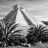 ¡Viva Mexico! Square Collection - Pyramid Chichen Itza VII Photographic Print by Philippe Hugonnard