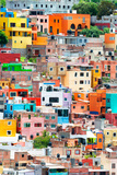 ¡Viva Mexico! Collection - Guanajuato - Colorful City XII Fotoprint av Philippe Hugonnard