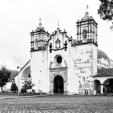 ¡Viva Mexico! Square Collection - Mexican White Church II