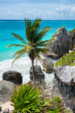¡Viva Mexico! Collection - Caribbean Coastline Fotoprint av Philippe Hugonnard
