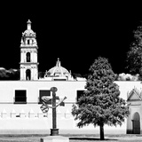 ¡Viva Mexico! Square Collection - Courtyard of a Church in Puebla I