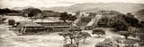 ¡Viva Mexico! Panoramic Collection - Pyramid of Monte Alban IX Lámina fotográfica por Philippe Hugonnard