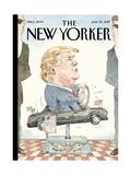 The New Yorker Cover - January 23, 2017 Reproduction procédé giclée par Barry Blitt