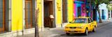 ¡Viva Mexico! Panoramic Collection - Colorful Street in Oaxaca VIII Stampa fotografica di Philippe Hugonnard