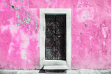 ¡Viva Mexico! Collection - Hot Pink Wall of Silence Fotografisk tryk af Philippe Hugonnard