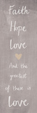 Loving Words II Reproduction procédé giclée par Sasha Blake