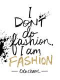 I am Fashion! Lámina giclée por Lottie Fontaine