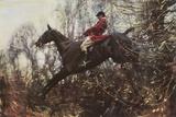 The Huntsman Giclee-trykk av Sir Alfred Munnings