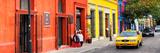 ¡Viva Mexico! Panoramic Collection - Colorful Street in Oaxaca VII Lámina fotográfica por Philippe Hugonnard
