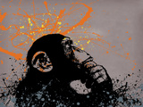 Thinker Monkey Giclee Print by  Banksy
