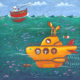 The Beatles – Yellow Submarine Kunstdrucke von Peter Adderley