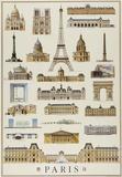 Monuments Of Paris Foto