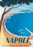 Napoli- Vintage Travel Poster Poster