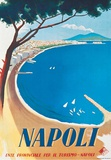 Napoli- Vintage Travel Poster Julisteet