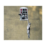 Skandaali Giclée-vedos tekijänä  Banksy
