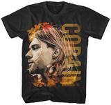 Kurt Cobain- Coloured Profile Vêtements
