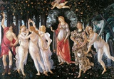 Botticelli- Primavera Poster van Sandro Botticelli