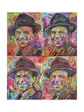 Sinatra Quadrant Giclée-tryk af Dean Russo