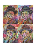 Sinatra Quadrant Giclee Print by Dean Russo