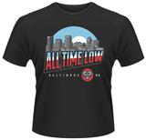 All Time Low- Baltimore City Logo Shirt