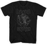 Lynyrd Skynyrd- Eagle Guitar Logo Bluser
