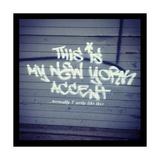 My New York Min Giclee-trykk av  Banksy