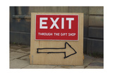 Exit Through the Gift Shop Giclee Print by  Banksy