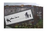 Un-F**k the System Giclee-trykk av  Banksy