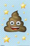 Emoji- Happy Poo Posters