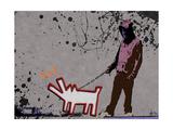 Choose the dog Reproduction procédé giclée par  Banksy