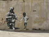 Paix Reproduction procédé giclée par  Banksy