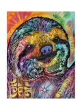 Sloth Lámina giclée por Dean Russo