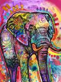 Elephant Giclée-tryk af Dean Russo