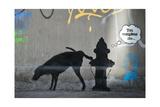 You Complete Me Giclée-Druck von  Banksy