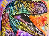 Raptor Lámina giclée por Dean Russo