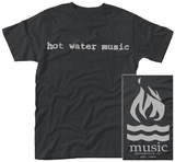 Hot Water Music- Band Logo Maglietta