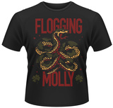 Flogging Molly- Green Snake T-Shirts