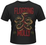 Flogging Molly- Green Snake T-Shirts