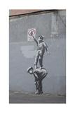 Graffiti Is a Crime Giclee-trykk av  Banksy