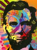 Abraham Lincoln II Giclee-trykk av Dean Russo