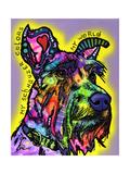 My Schnauzer Impressão giclée por Dean Russo